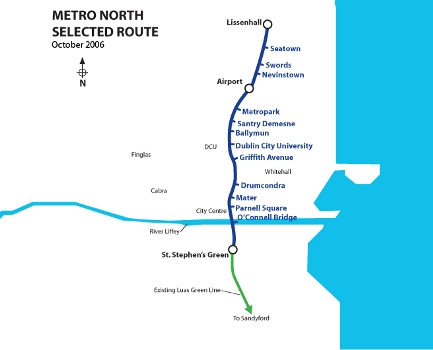 METRO NORTH MAP